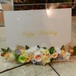 お友達へのプレゼントにプリザーブドフラワーの写真タテ